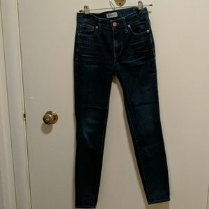 Madewell Highriser Skinny Jeans